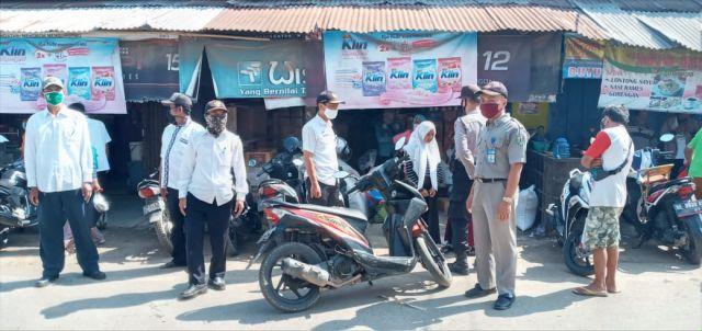 Operasi Yustisi Disiplin Protokol Kesehatan di Pasar Wargomulyo